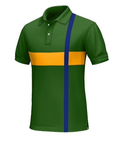 Brasilien Polohemd für den Mann Tailor4Less
