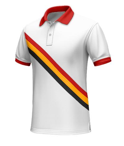Belgien Polohemd für den Mann