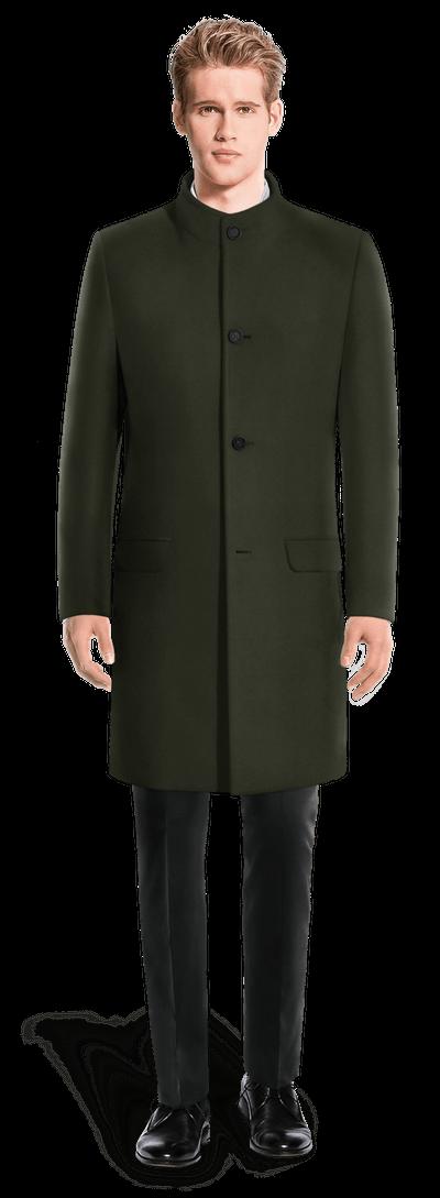 Manteau officier vert
