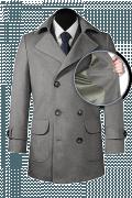 Grey Pea coat-front_open