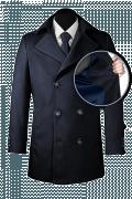 Blue Pea coat-front_open