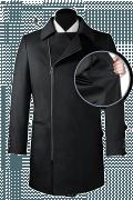 Cappotto doppiopetto grigio-front_open