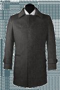 шерстяное пальто-Вид спереди