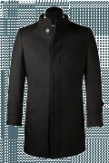пальто с воротником-стойкой-Вид спереди