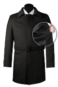 Cappotto con cintura nero-front_open