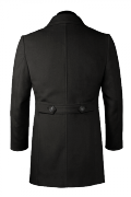 Black Coat-View Back
