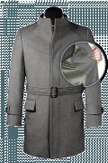 Abrigo gris con cinturón de lana-front_open