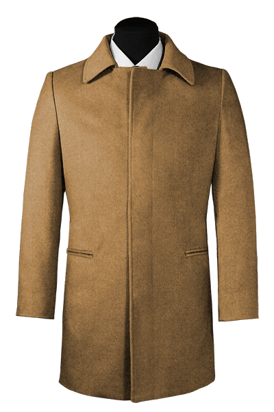 Beige Wool Coat
