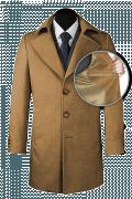 Cappotto beige di lana-front_open
