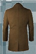 Manteau marron-Vue Dos