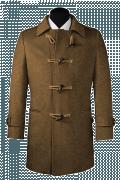 Manteau marron-Vue Avant