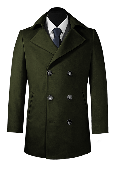 Green Pea coat