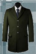 Green Coat-View Front