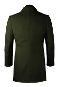 Green Coat-View Back