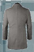 Manteau gris-Vue Dos