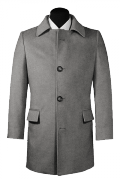 Manteau gris-Vue Avant