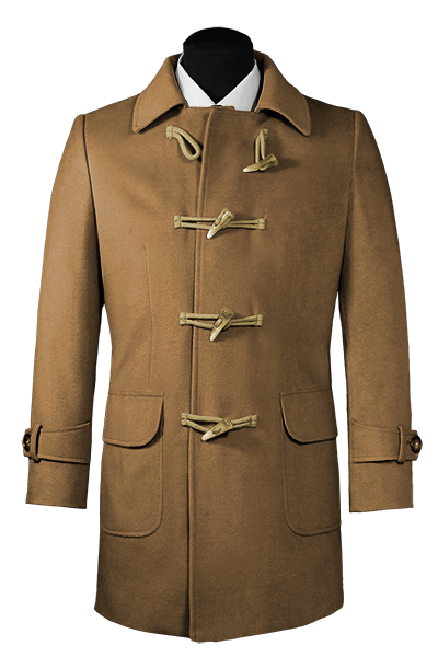 Duffle coat marron