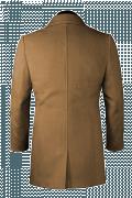 Cappotto marrone-Vista Posteriore
