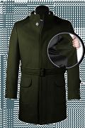 Cappotto con cintura verde-front_open