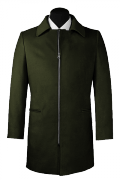 Green Coat-View Front