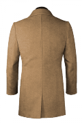 Brauner Mantel-Ansicht Rückseite