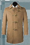 Cappotto marrone-Vista Frontale