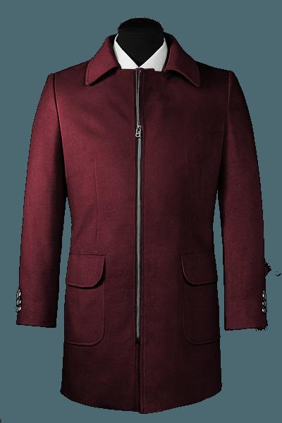 Manteau mauve