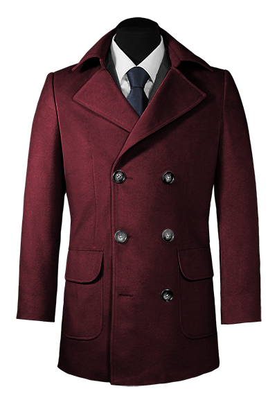 Purple Pea coat