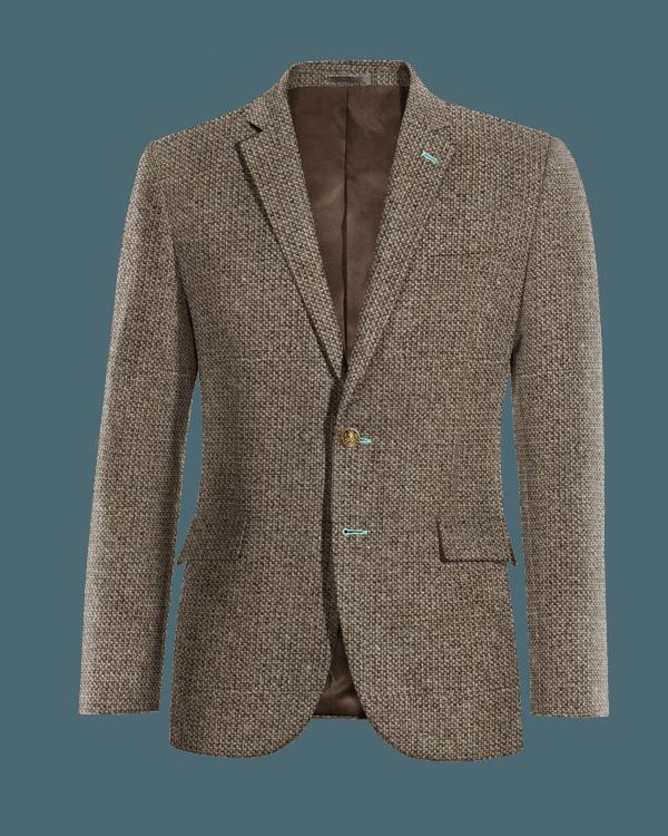 Blazer marrone 100% lana