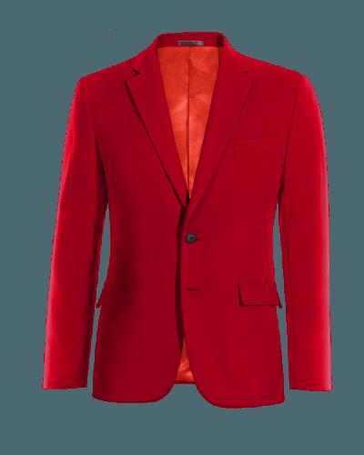 Rotes Wolle Sakko