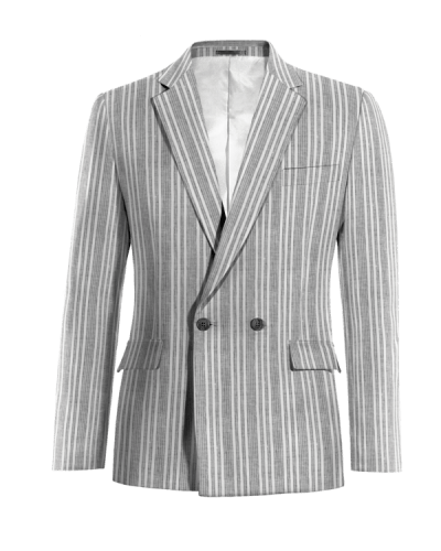 Chaqueta cruzada de 2 botones. Solo apta para los más elegantes. Muestra  que hay debajo de tu chaqueta combinándola con una camisa y una corbata ... 7902bf17cb0