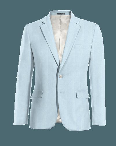 Blaues Sakko aus Leinen