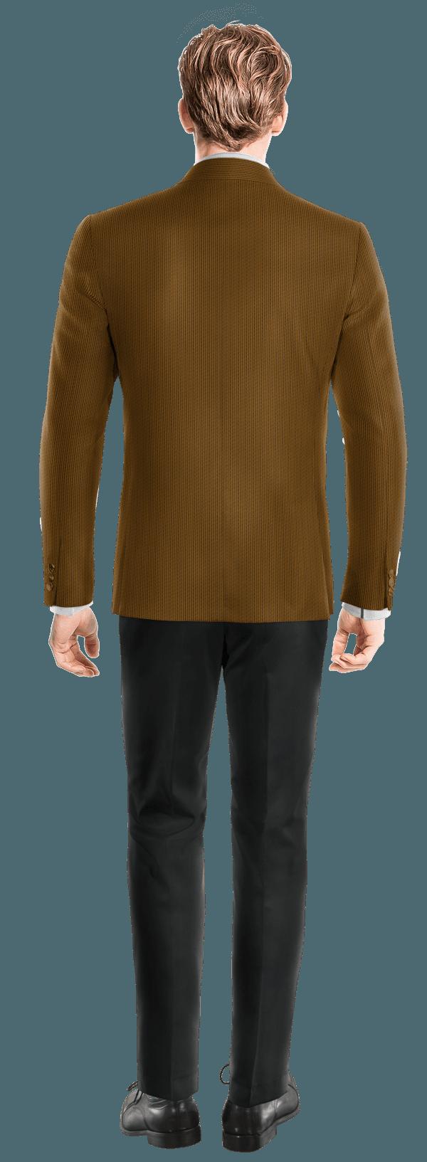 Veste marron en Velours côtelé