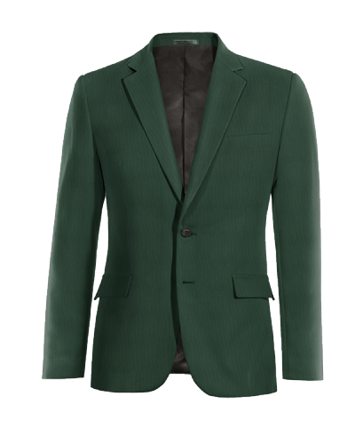 Green wool Blazer