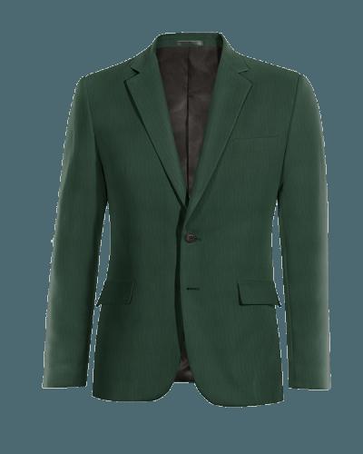 Grünes Sakko aus Wolle