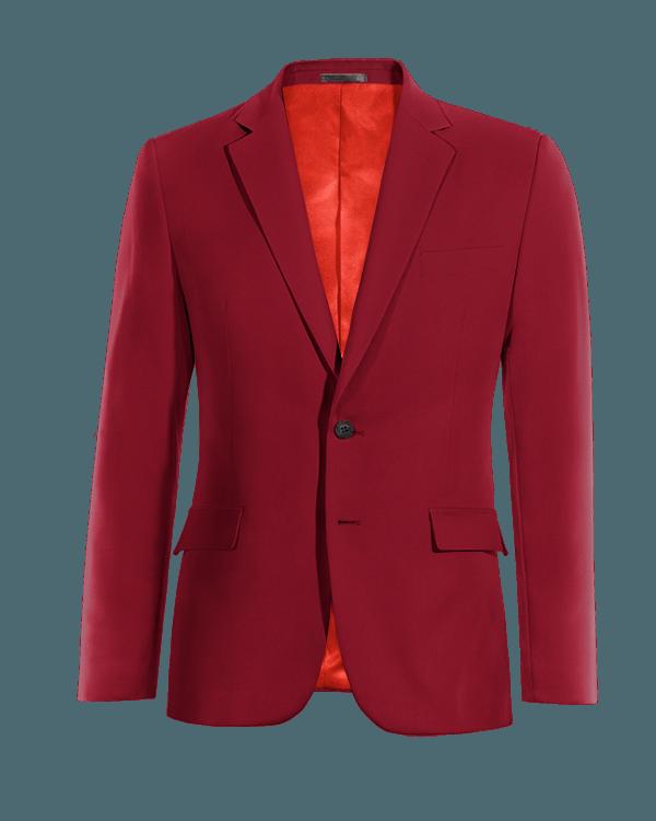 Rotes Sakko aus Wolle