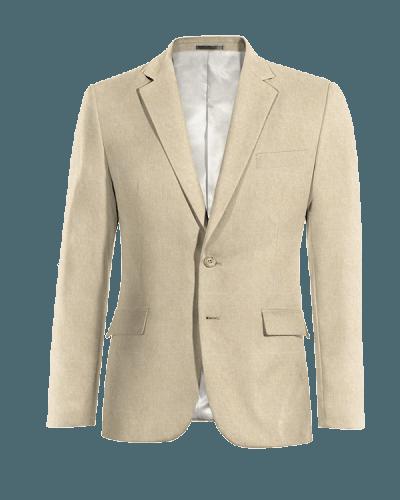 Giacca beige di Lino