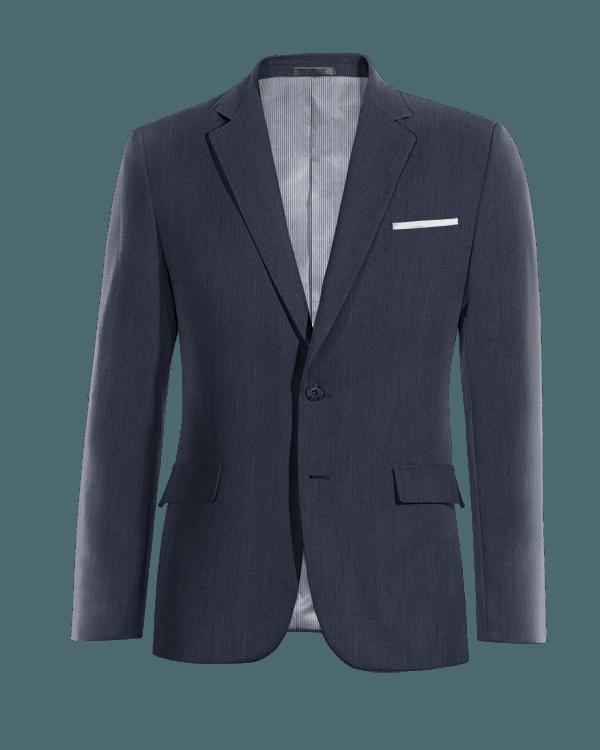 Giacca blu di Lino