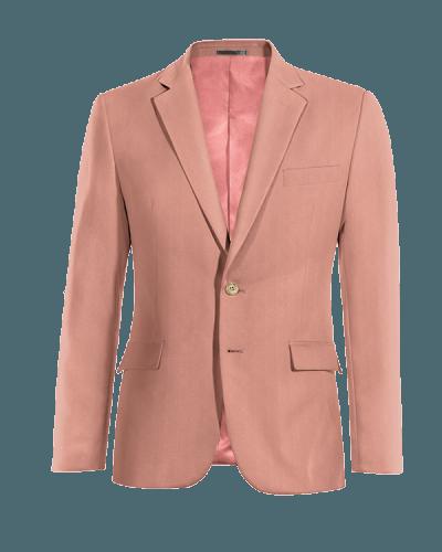 Blazer rosa di Cotone