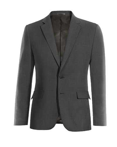 Grey Merino wool Blazer