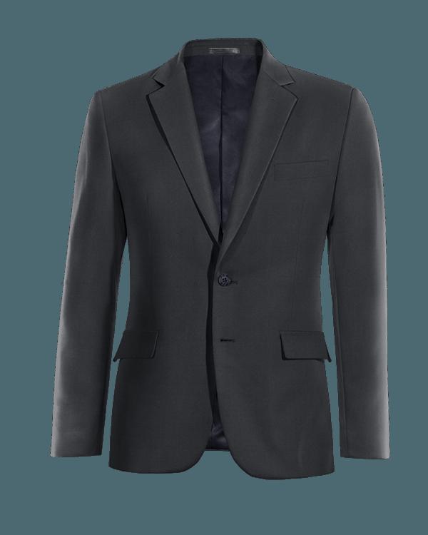 Blue Merino wool Blazer
