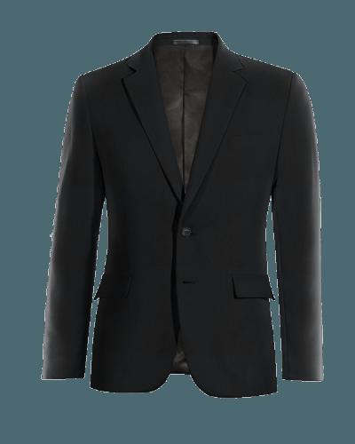 Giacca nera 100% lana