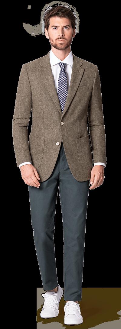 Braunes Tweed Sakko