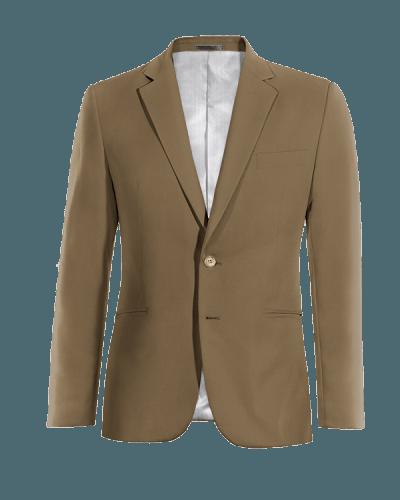 Braunes Sakko aus Wolle