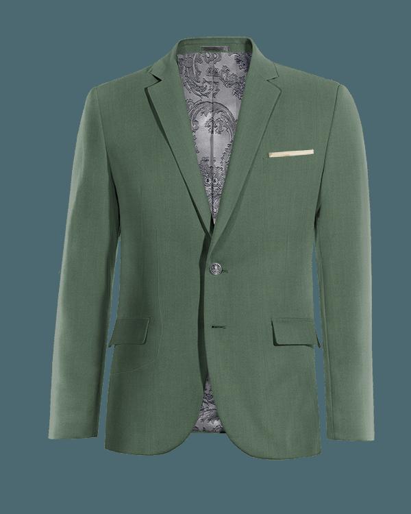 Giacca verde di Lana