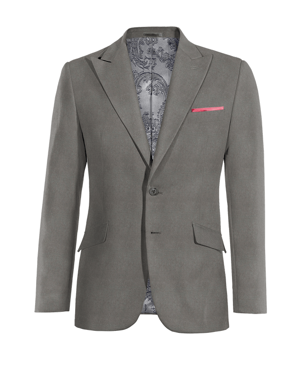 Grey linen Blazer
