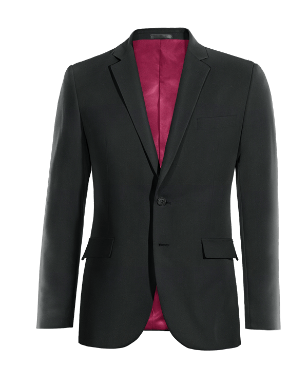 Black Merino wool Blazer