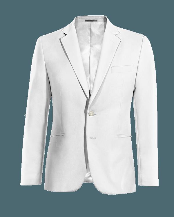 Weißes Sakko aus Leinen