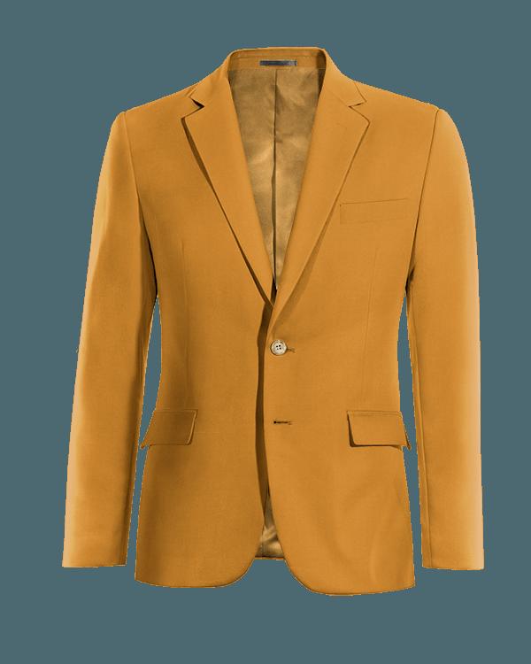 Blazer gialla di Cotone