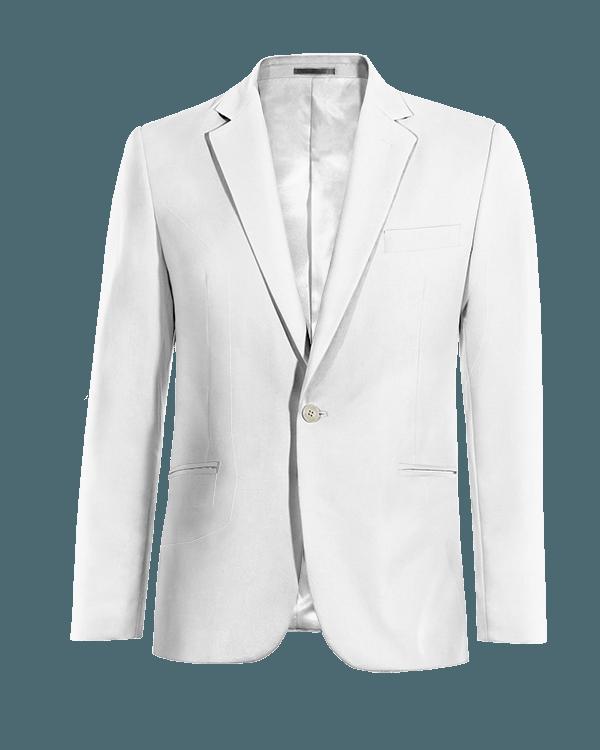 Giacca bianca di Lino